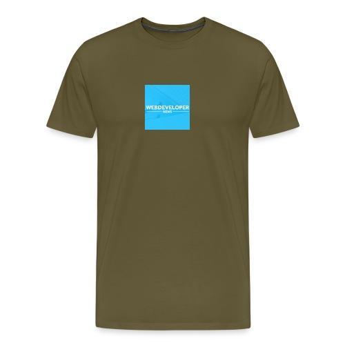 Web developer News - Männer Premium T-Shirt