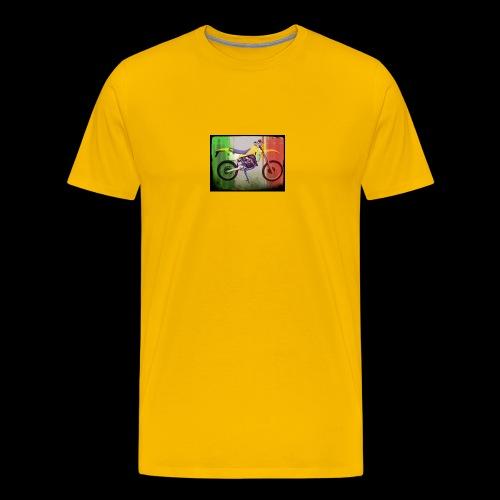 80PSbandierasporco - Maglietta Premium da uomo