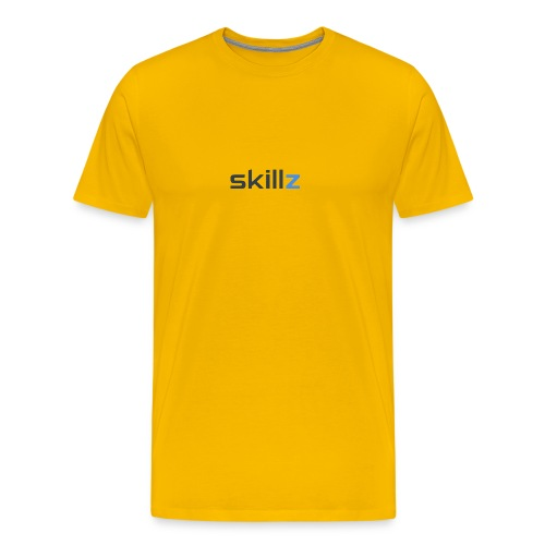 SKiLLz Merch - Premium-T-shirt herr