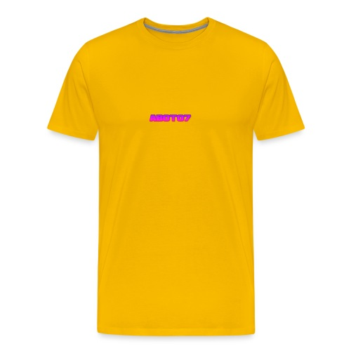 Abot07 - Premium-T-shirt herr