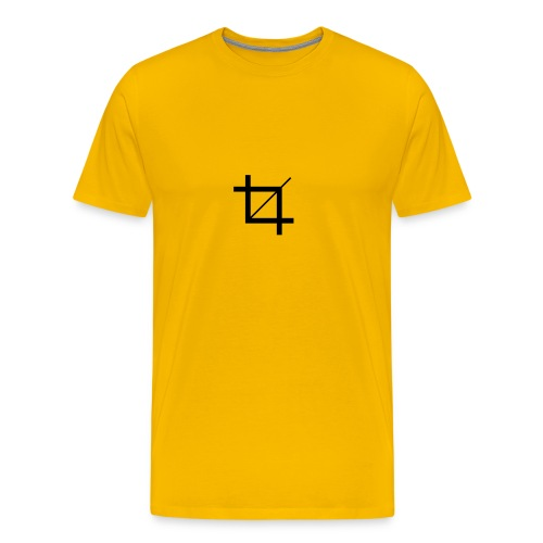 Crop - Männer Premium T-Shirt