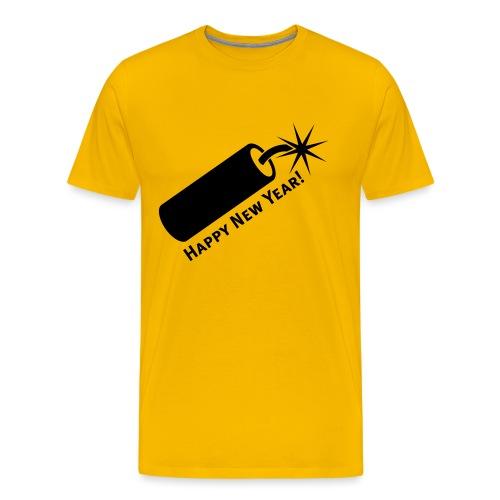 happy.new.year - Männer Premium T-Shirt
