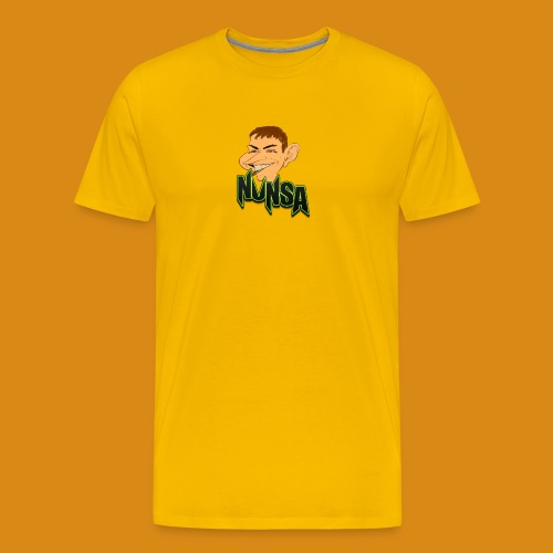 NUNSA com Caricatura - Men's Premium T-Shirt