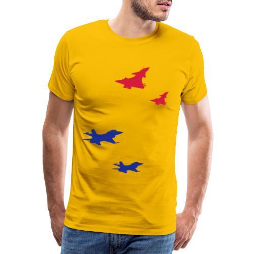 J10 Vanguard Fighter Jets - Men's Premium T-Shirt