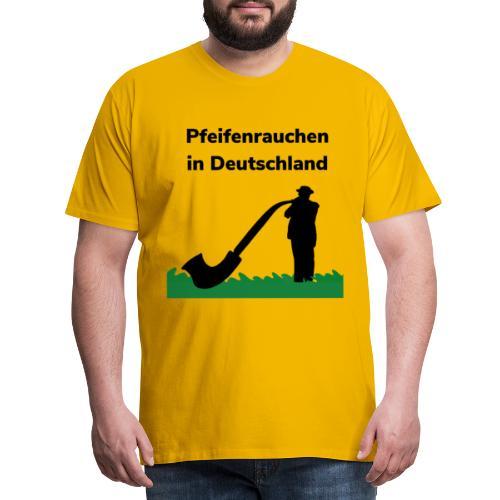 Pfeifenrauchen - Maglietta Premium da uomo