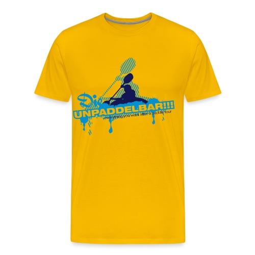 Die Unpaddelbar - Männer Premium T-Shirt