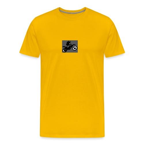 wheelie - Men's Premium T-Shirt