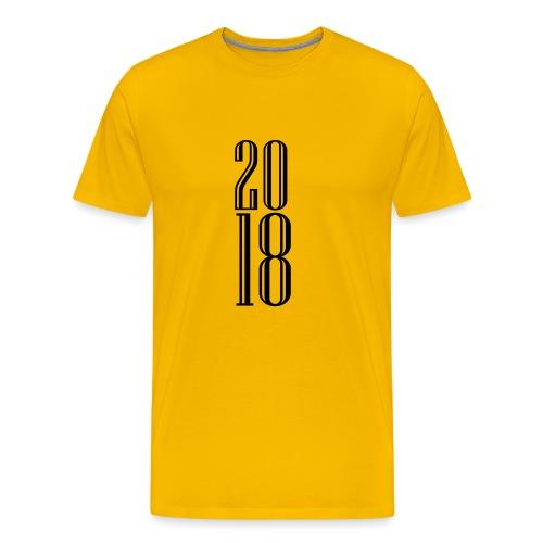 2018 - Camiseta premium hombre