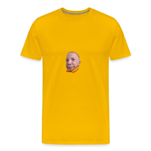 bacon _polse Merch! - Premium T-skjorte for menn