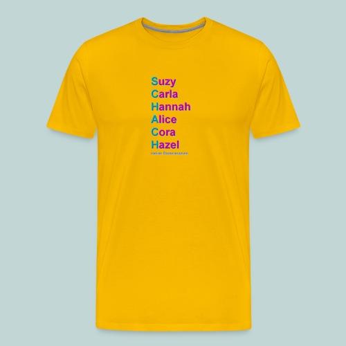damennamen_modern - Männer Premium T-Shirt