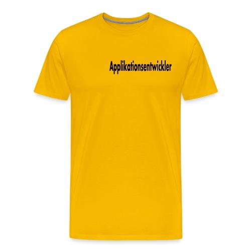 applikationsentwickler - Männer Premium T-Shirt