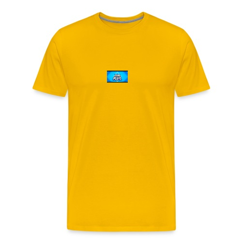 zero playz - Premium T-skjorte for menn