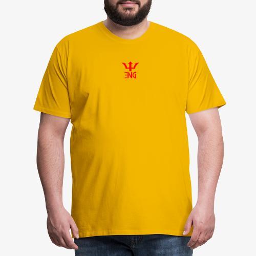 logo rouge - T-shirt Premium Homme