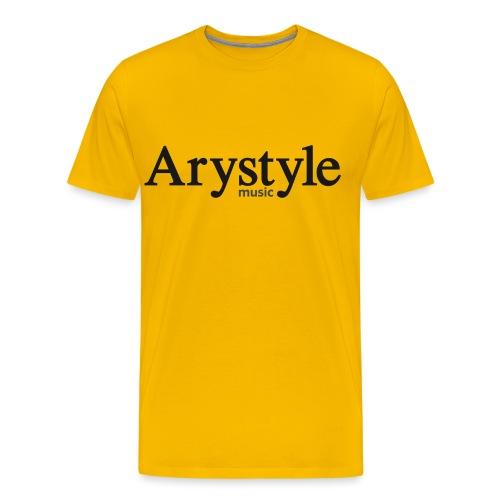 Arystyle Noir - T-shirt Premium Homme