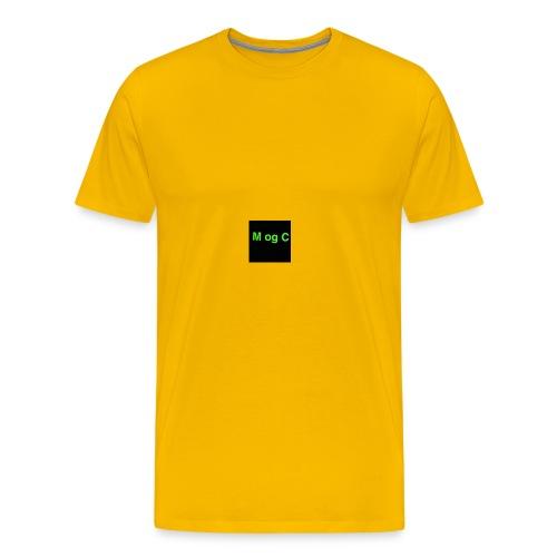 mogc - Herre premium T-shirt