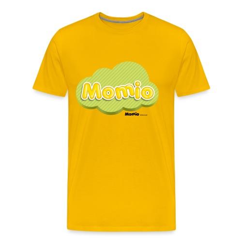 Logo Momio - Koszulka męska Premium