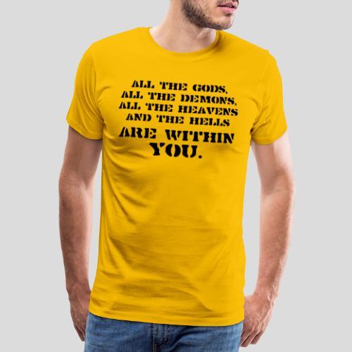 AllGods II - Camiseta premium hombre
