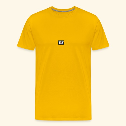 JanHoffmannYTlogo - Männer Premium T-Shirt