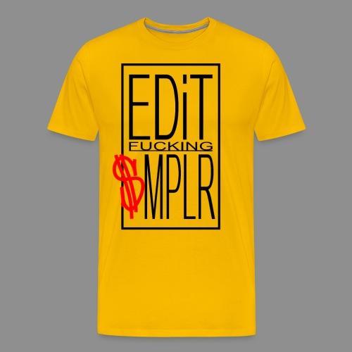 EDiT SMPLR - Männer Premium T-Shirt