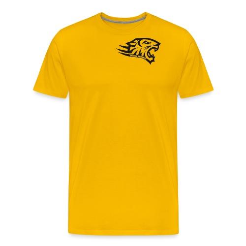 Tuiran Tiikerit tuoteperhe, pieni logo - Miesten premium t-paita