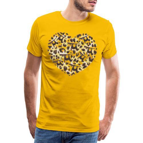 Lui paard_Lui Paard Print - Mannen Premium T-shirt