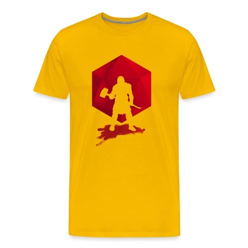 Brutal Barbarian - Dungeons and Dragons en d20 - Mannen Premium T-shirt