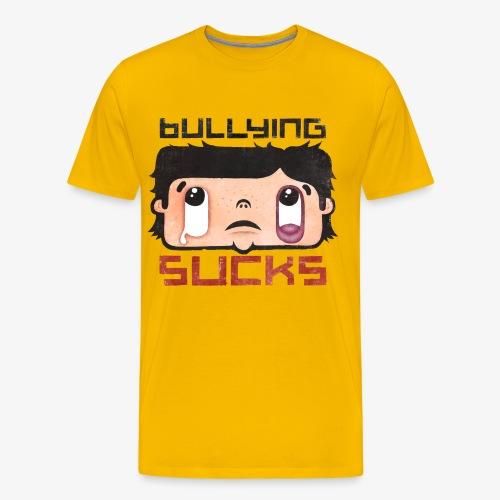 Bullying sucks - Miesten premium t-paita