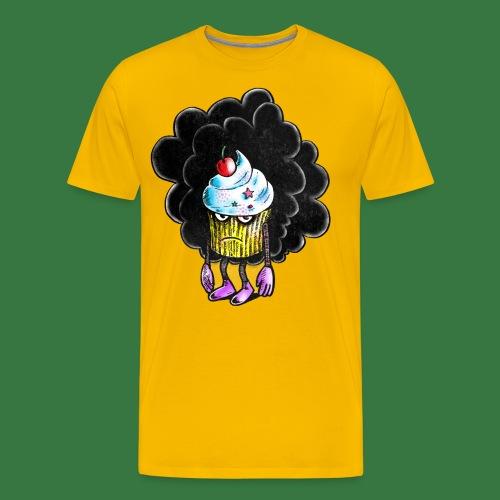 Don´t call me cupcake - Premium-T-shirt herr