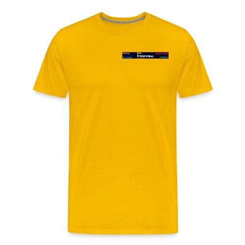 BGN Side ad png - Men's Premium T-Shirt