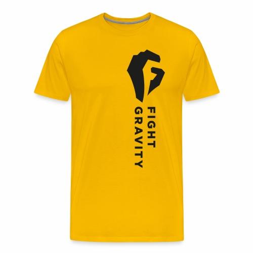 Faust überm Herz - Männer Premium T-Shirt