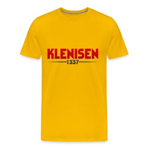 PlstonykappaShirt png - Premium-T-shirt herr