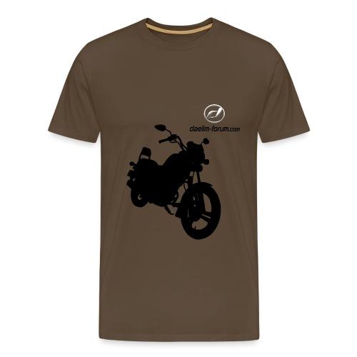 Daelim VS, Silhouette von vorne rechts T-Shirts - Männer Premium T-Shirt