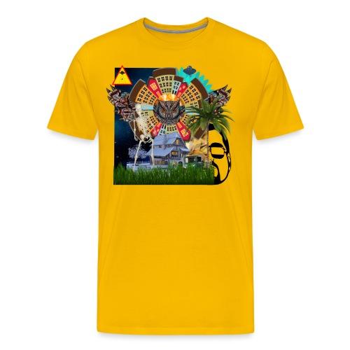 SECONDINDO - Maglietta Premium da uomo