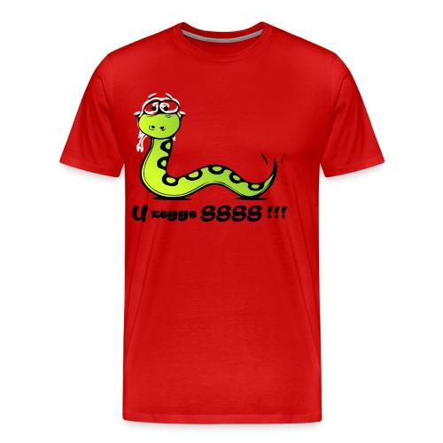 U zegge SSSS !!! - Mannen Premium T-shirt