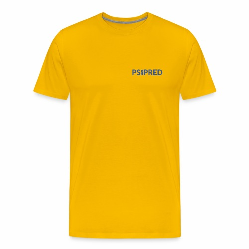 Logo in blue - Men's Premium T-Shirt