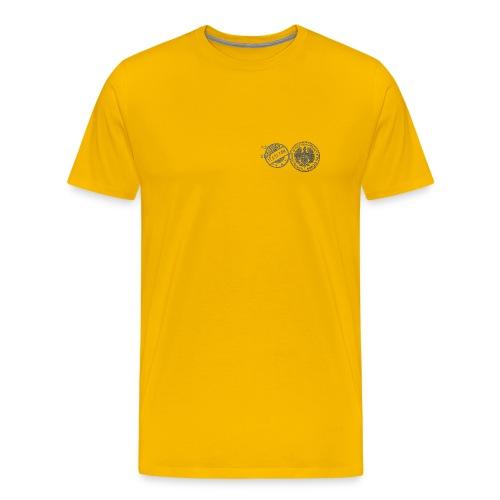 wiesenbaumeister stempel - Männer Premium T-Shirt