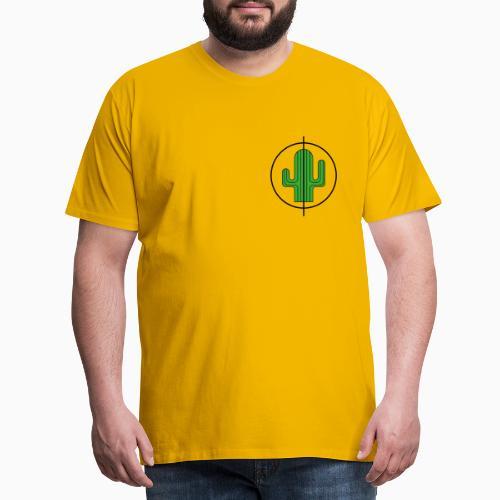 Kaktus - Männer Premium T-Shirt