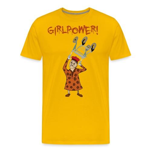 Elsa swingar rullator med text png - Premium-T-shirt herr