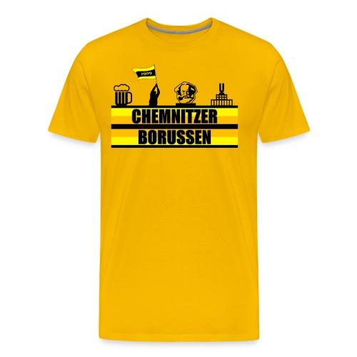 T Shirt 2016 3 fahne png - Männer Premium T-Shirt