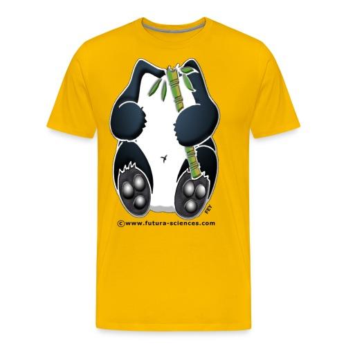 Panda bambou - T-shirt Premium Homme