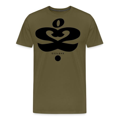 o22 love - Koszulka męska Premium