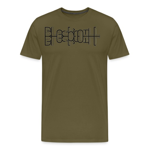 Flow horizontal black - Men's Premium T-Shirt