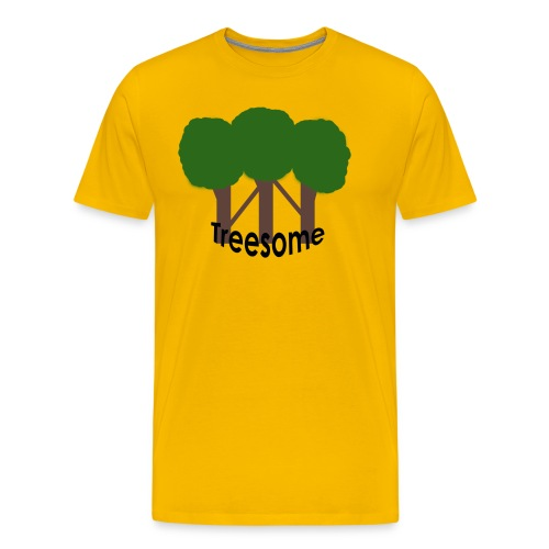 Treesome - Mannen Premium T-shirt