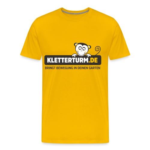 kletterturm de logo - Männer Premium T-Shirt