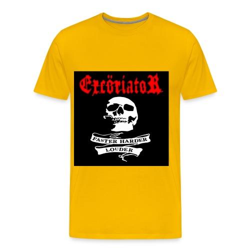excöriator faster harder - Premium-T-shirt herr