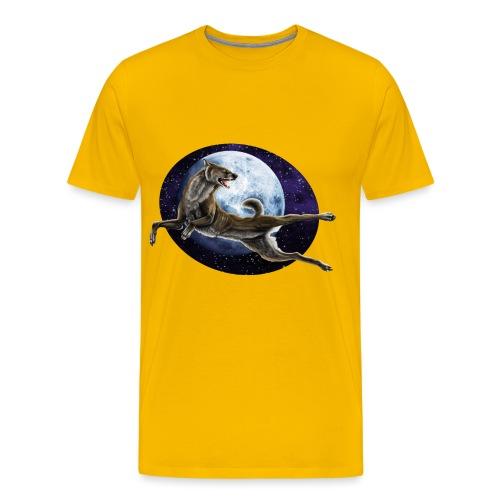 Galaxy Wolf - Männer Premium T-Shirt