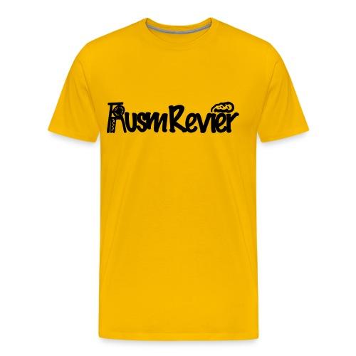 Ausm Revier Logo - Männer Premium T-Shirt