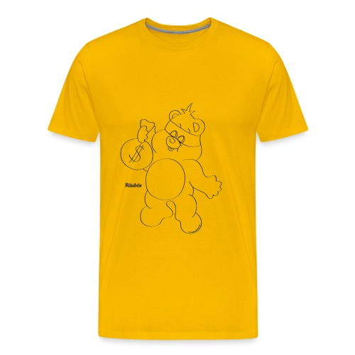 Räubär - Männer Premium T-Shirt