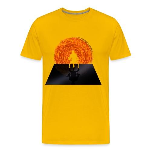 Staring Into the Illusive Sun (Red) - Men's Premium T-Shirt