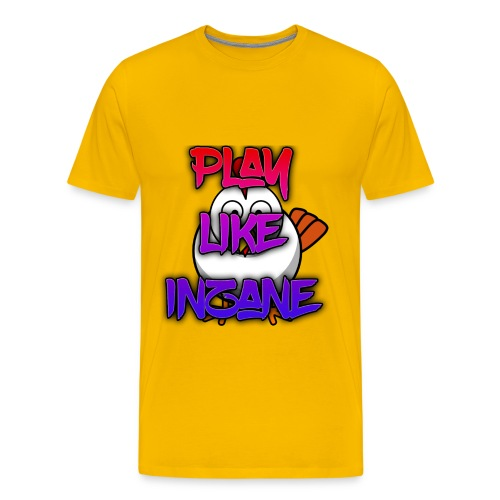 Inzane png - Premium-T-shirt herr